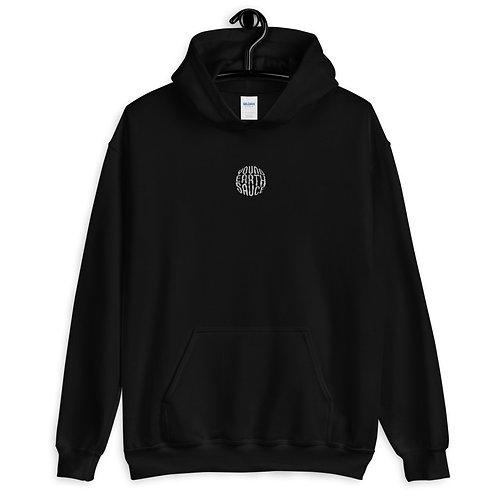 hoodie - svart