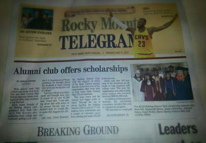 Rocky Mount Telegram 2015