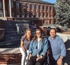 Emma with mom & dad!