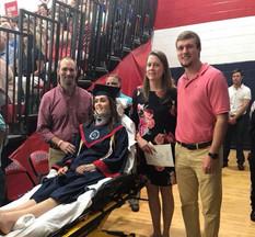 Emma at graduation!