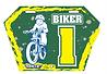 Plaque de cadre Biker 1