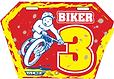 plaque de cadre Biker 3
