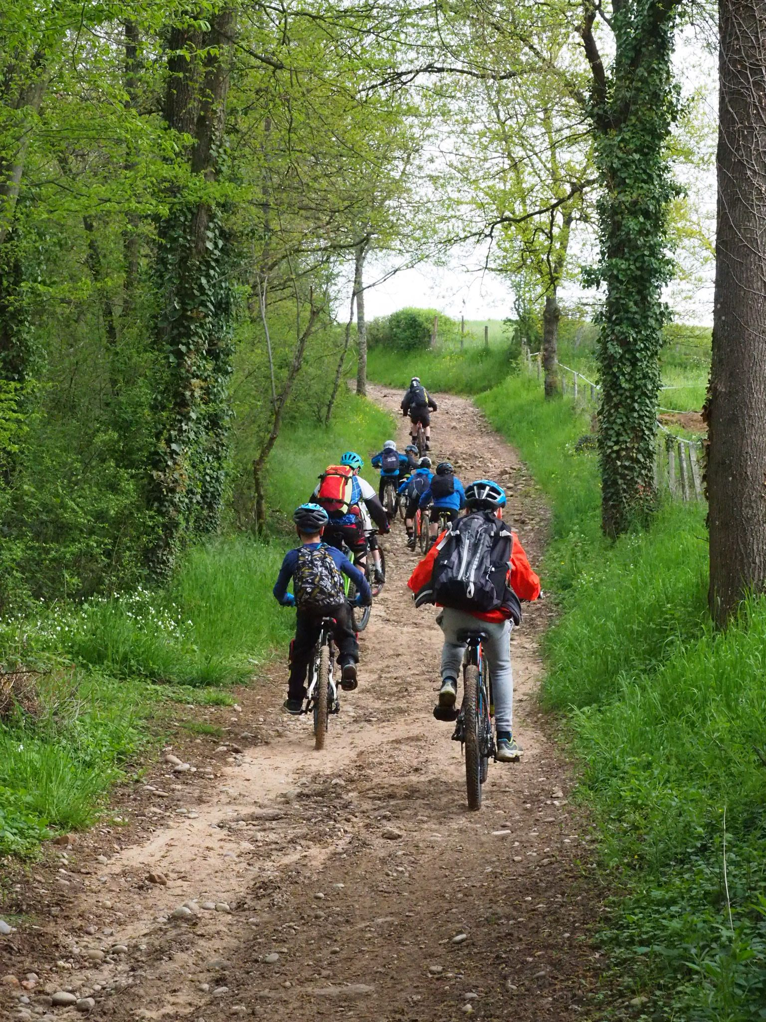 Stage VTT Bikers