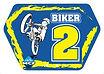 Plaque de cadre Biker 2