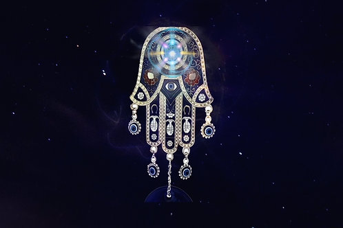Hamsa Happiness 🧿 Protection Against Evil Eye
