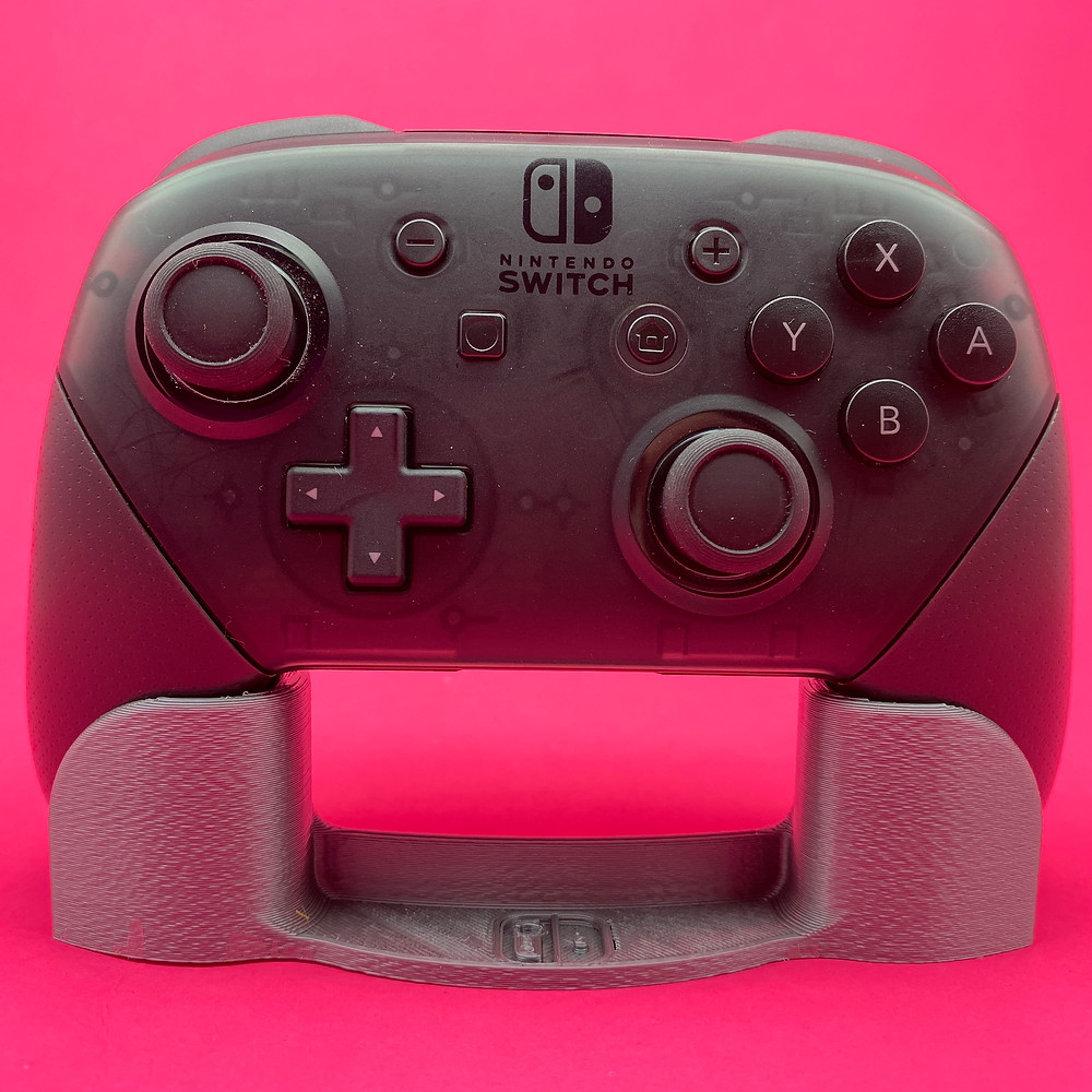 3D Printed stand for Nintendo Switch Pro Controller