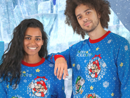 Official Nintendo ugly sweaters have dropped!
