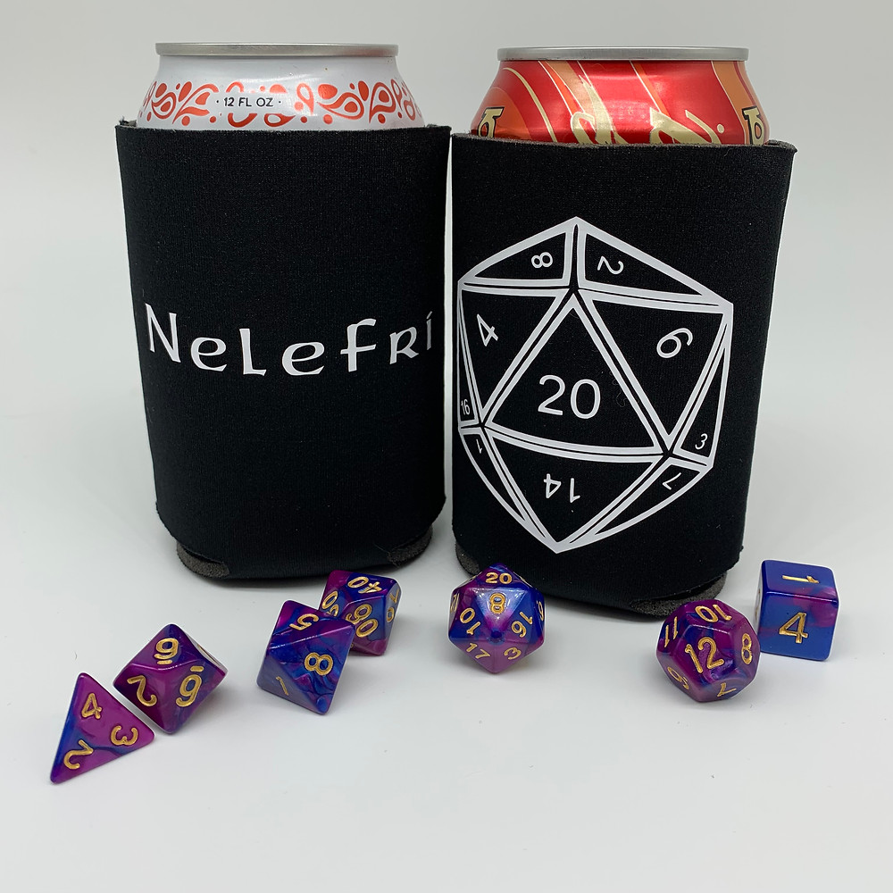 Dungeons and Dragons Koozie D&D Dnd Koozie