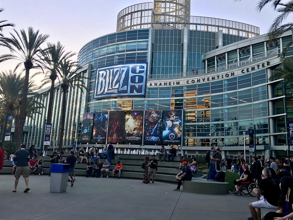 Front of the Anaheim Convention Center - BlizzCon 2016
