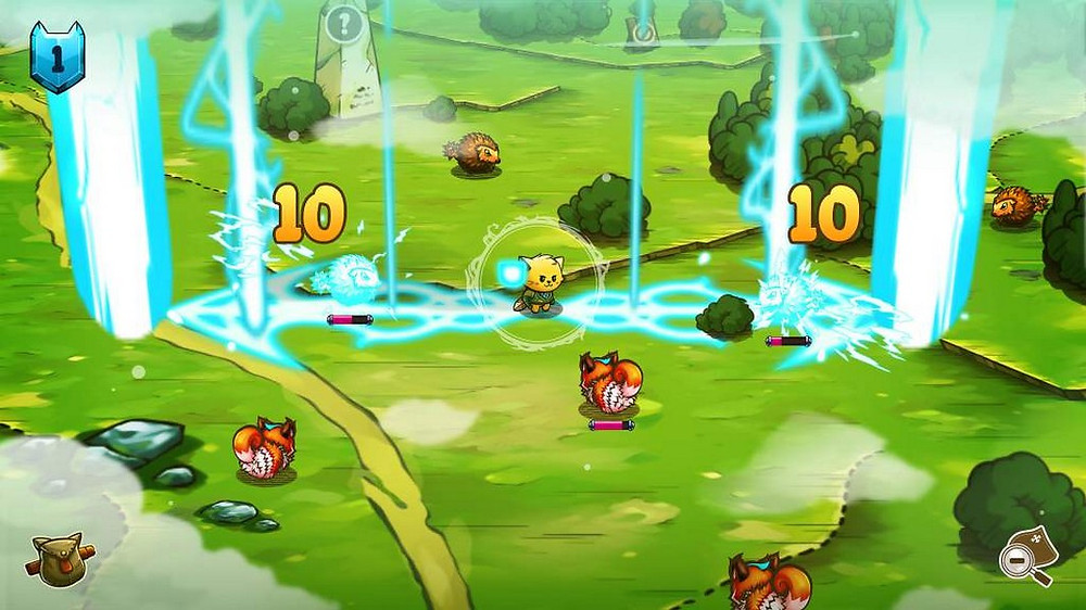 Cat Quest screenshot courtesy of PQube