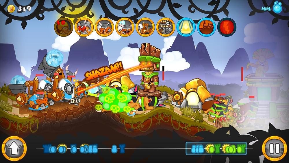 Swords & Soldiers Screenshot Nintendo Switch