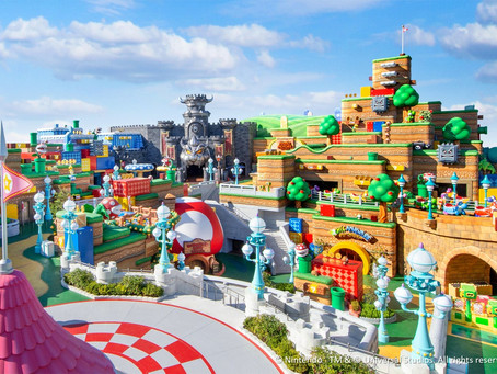 SUPER NINTENDO WORLD opens February 4, 2021 in Japan!