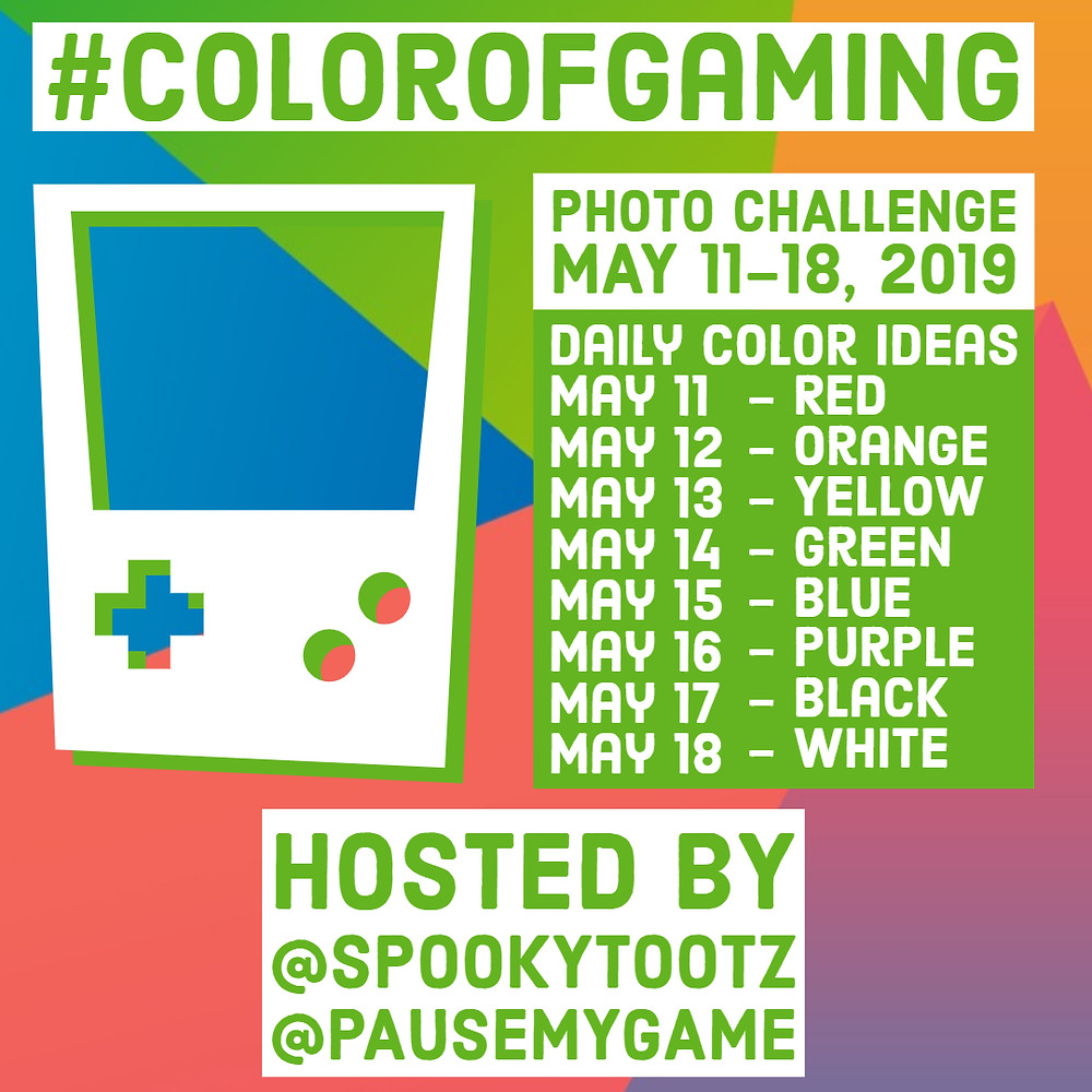 color of gaming photo challenge on instagram