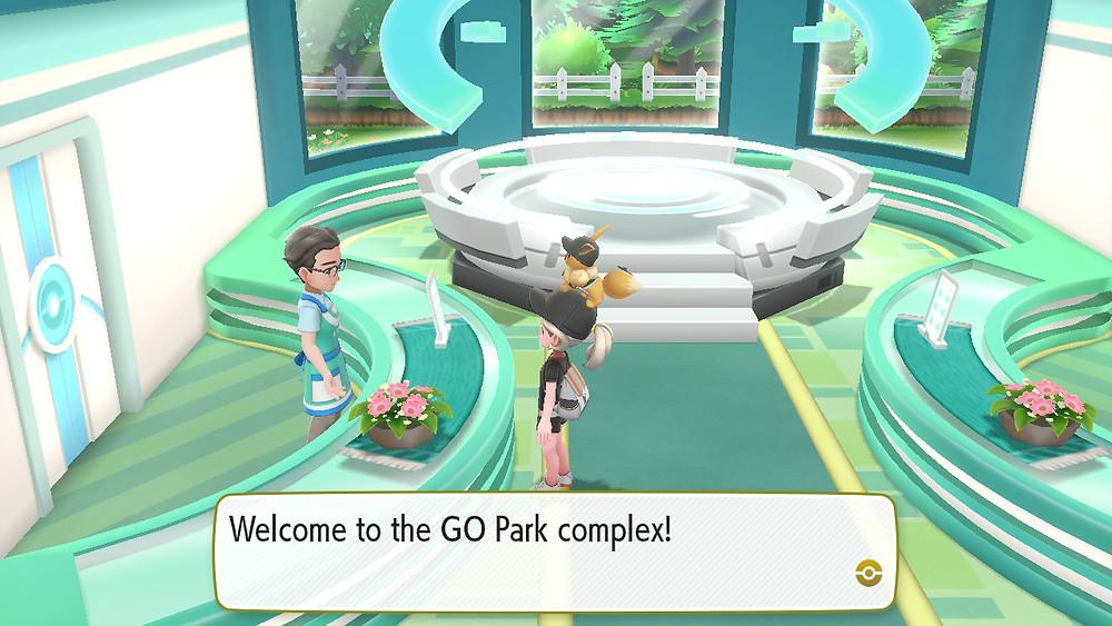 Pokémon GO Park complex