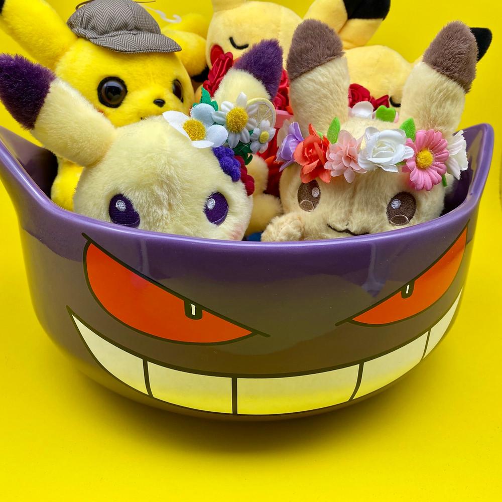 Gengar halloween treat bowl