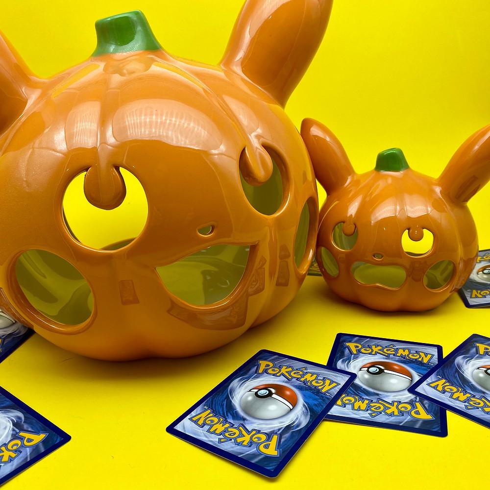 Pikachu ceramic tea light holders