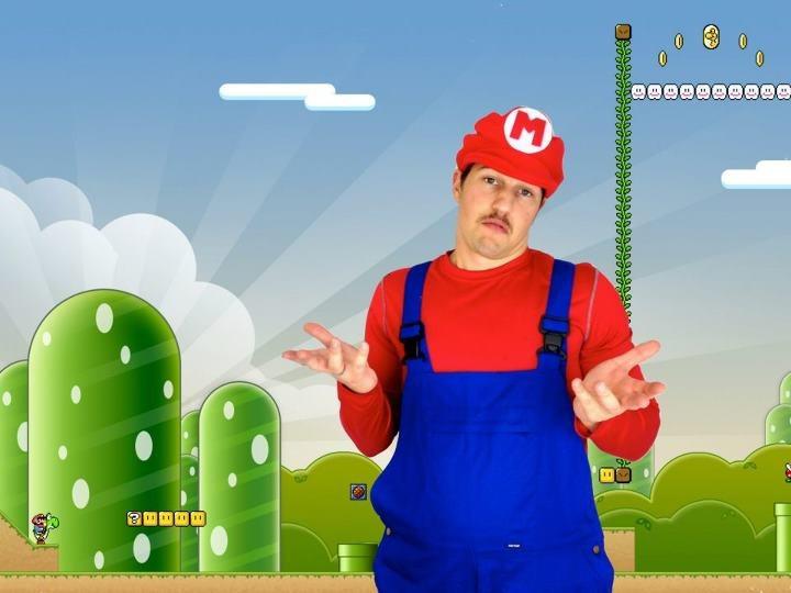Mario Halloween Costume DIY