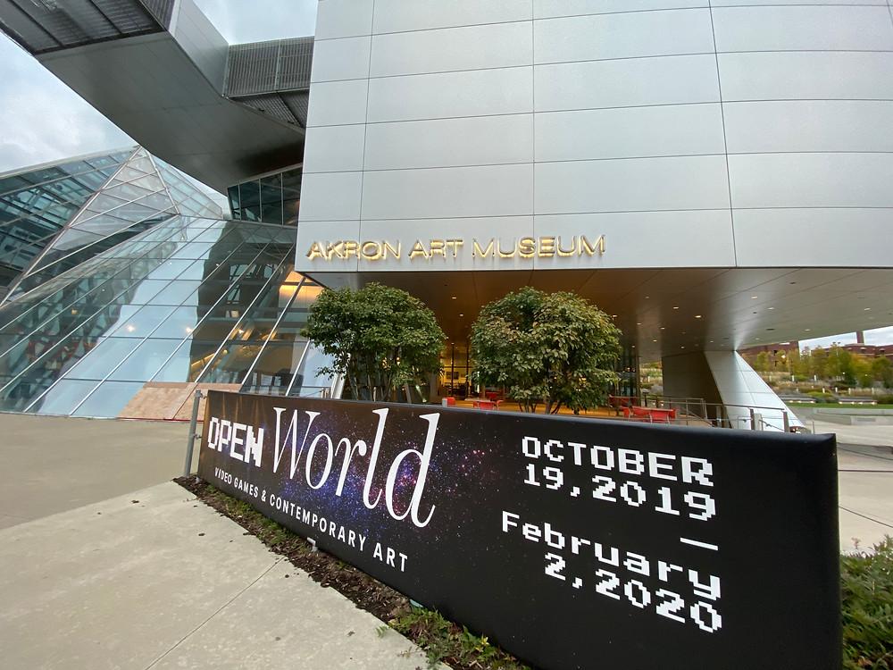 Akron Art Museum Open World
