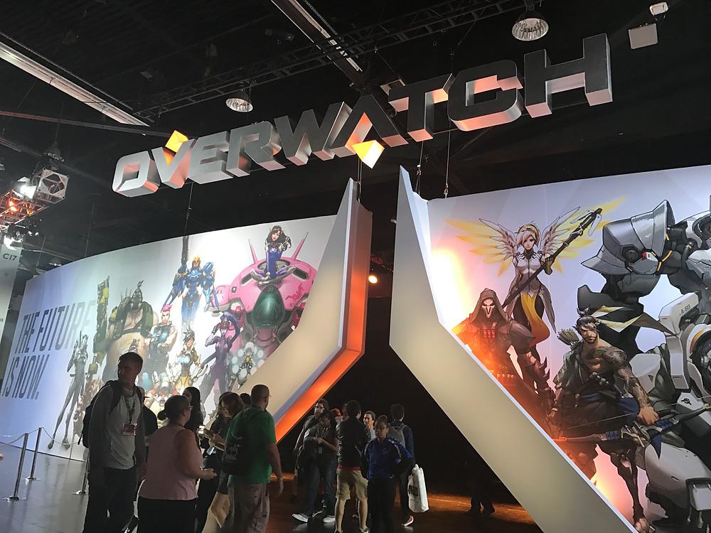 BlizzCon 2016 Overwatch stage