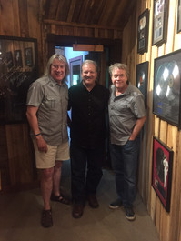 Mike with John Schlitt & Billy Smiley