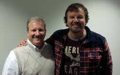 Mike with Mark Hall of Casting Crowns