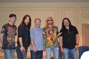 Mike with Stryper
