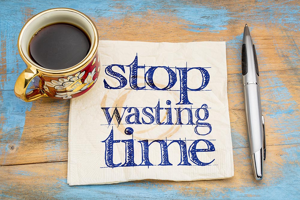 Stop wasting time - MCT Consulting & Training