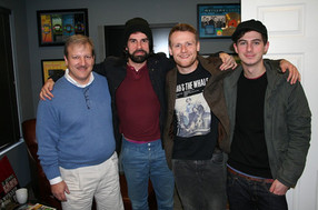 Mike with members of Rend Collective