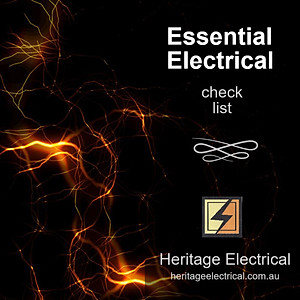 Essential Electrical Check List