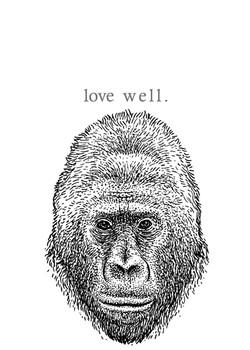 gorilla - love well