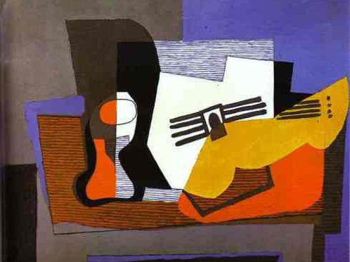 Cubist Musical Instrument