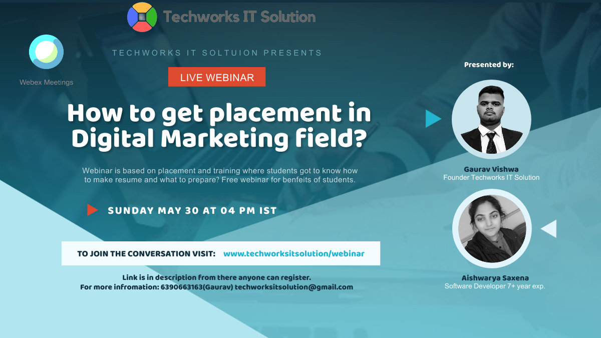 How to get placement in Digital Marketin