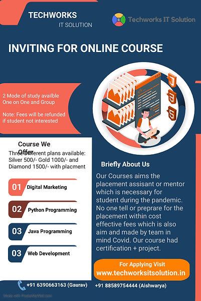 Inviting for Online Course - Made with P