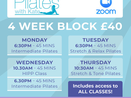 ZOOM CLASSES FOR PWK
