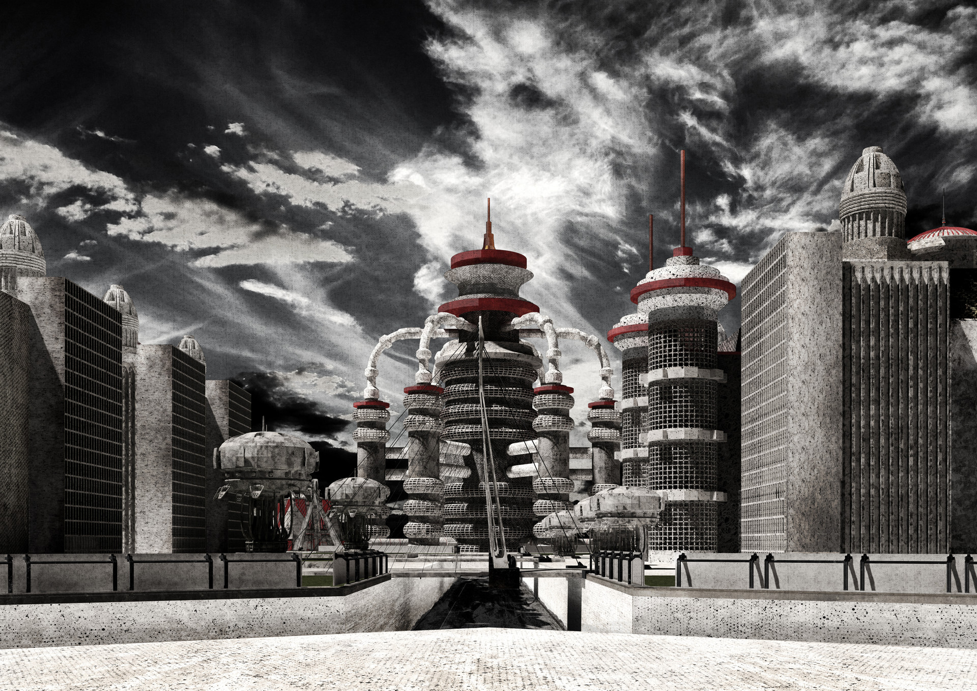 An Authoritarian Architecture