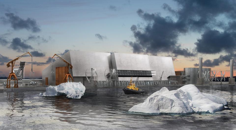 An Iceberg's Arrival