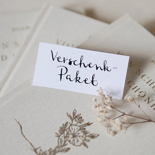 Poesiebuch - VERSCHENKPAKET mit Wunschpostkarten