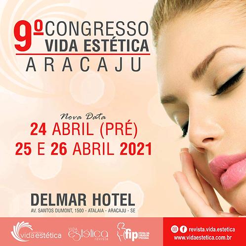 Congresso Vida Estética Aracajú + FIP (1º Lote) ESTUDANTE
