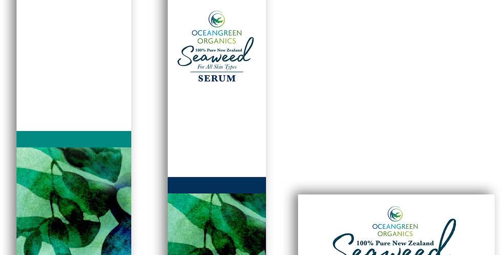100% Pure New Zealand Seaweed Skin Care Range