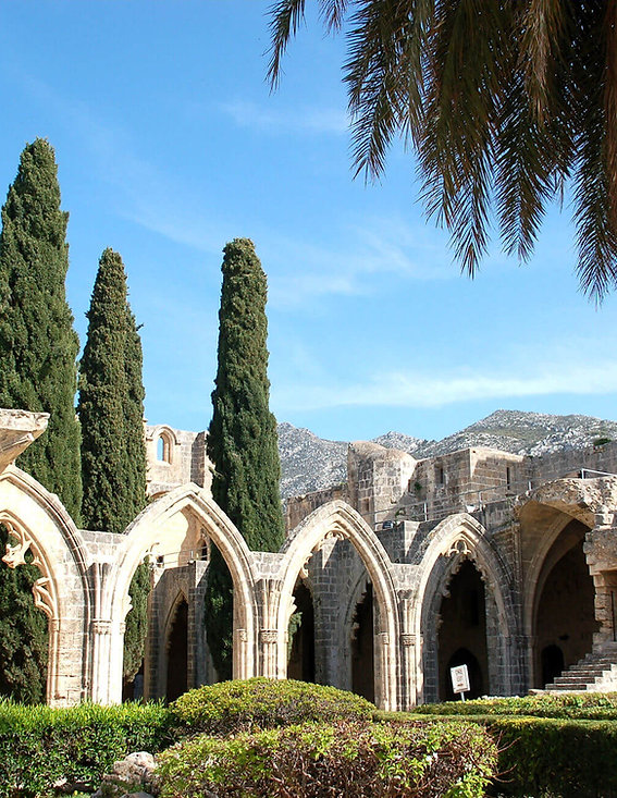 Bellapais Abbey North Cyprus Villa Rentals