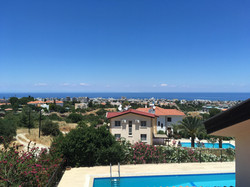 View to Kyrenia, Villa Cankaya