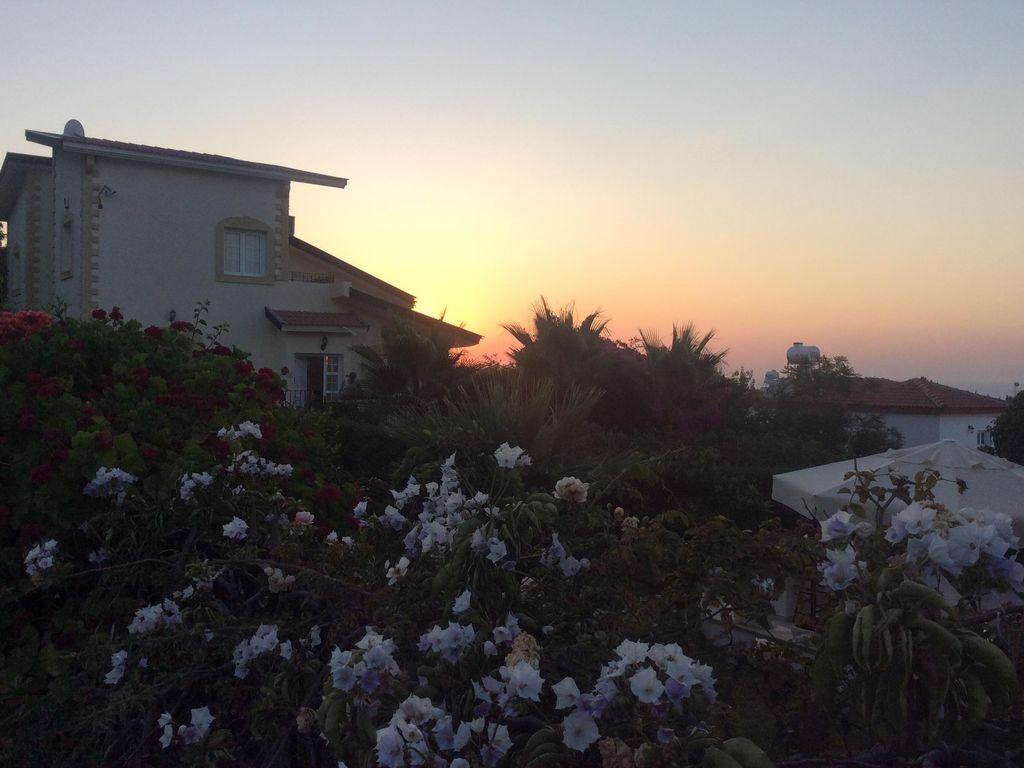Sunset over Kyrenia North Cyprus
