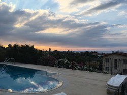 Sunset at Villa Cankaya