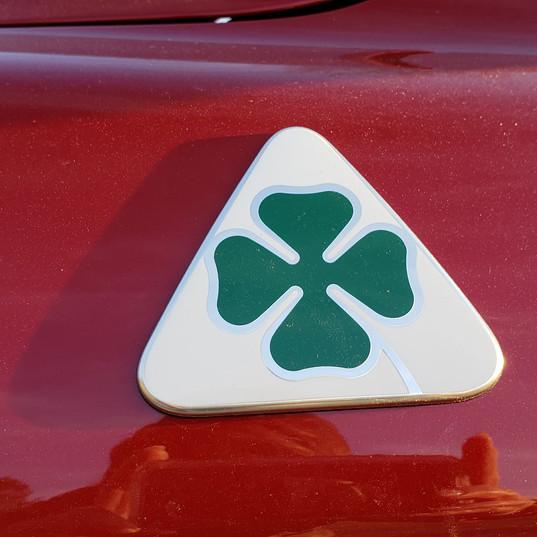 Every Quadrifoglio sports a 4-leaf clover