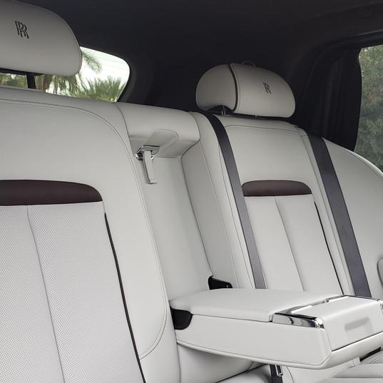 Rear Seat of 2019 Rolls Cullinan