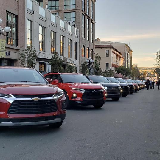 2019 Chevy Blazers ready to go in San Diego
