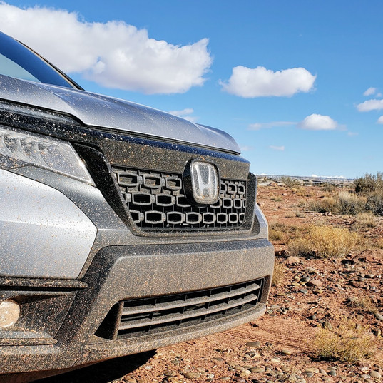 2019 Honda Passport front end