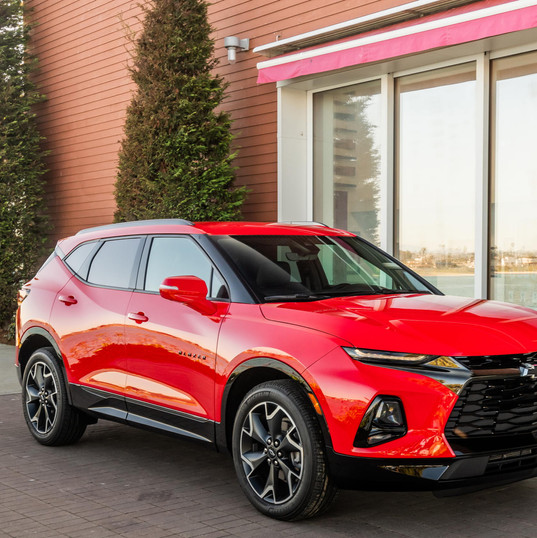 2019 Chevrolet Blazer RS front end
