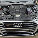 The 3.0 liter V6 engine of the 2018 Audi A8