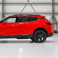 Side view of the 2019 Chevy Blazer RS